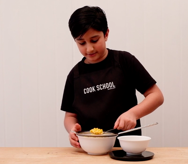 Star in a Cook School video with Abel & Cole…