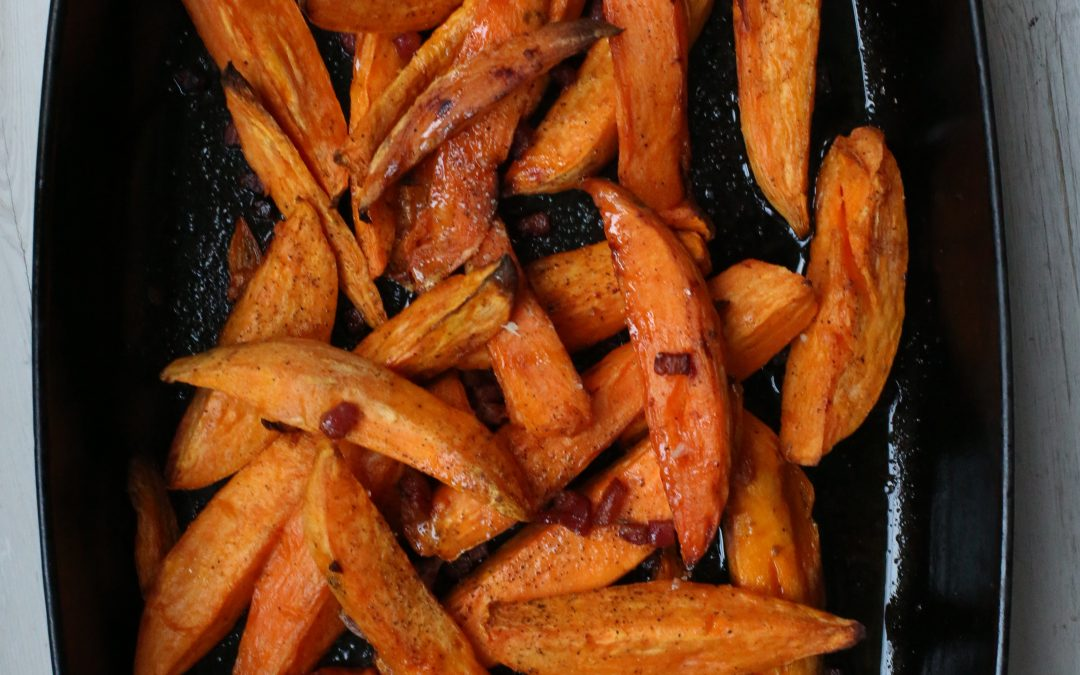 Jack's delicious sweet potato fries