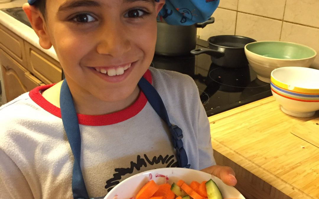 No longer a fussy eater thanks to Cook School!
