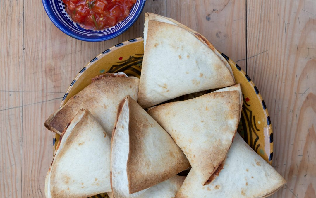Spicy bean samosas, our most popular recipe!