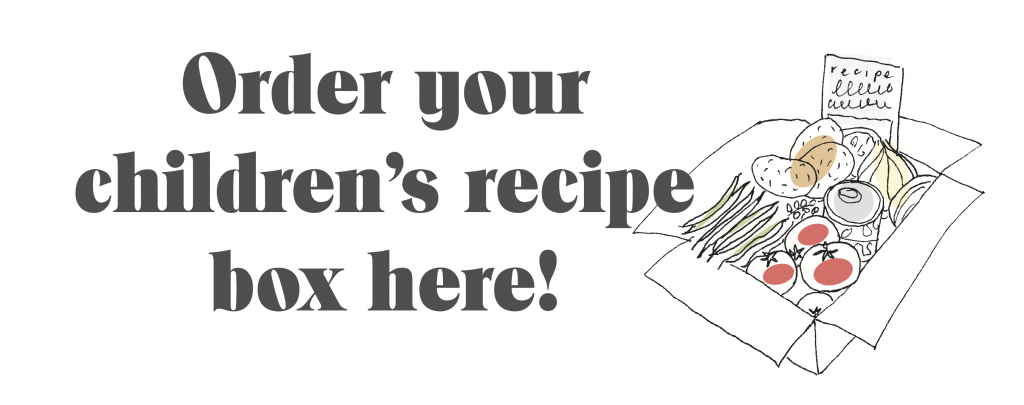 Order your children's recipe box here!